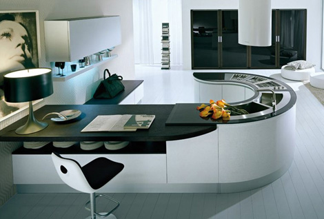 New Integra U-shape Pedini Kitchen