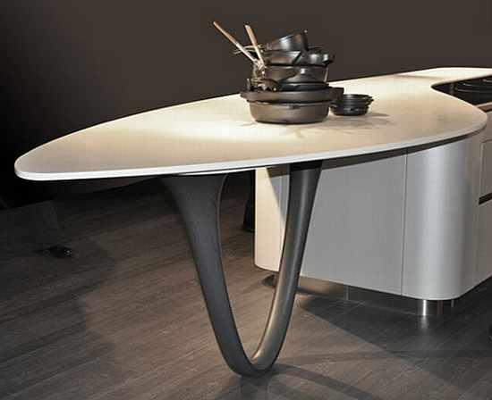 Futuristic Kitchen Appliances Icon